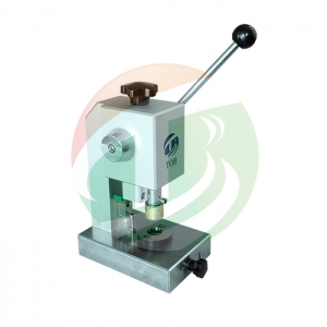Small Manual Die Cutting Punching Machine For Coin Cell Electrode and Separator Cutting